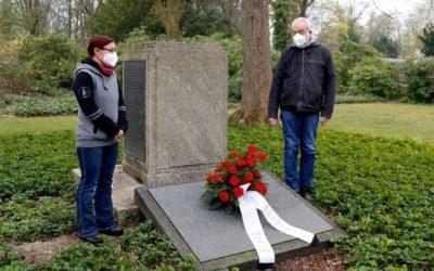 Gedenken an Gefallene der Ruhrkampfes